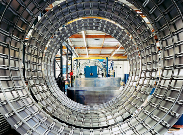 Svařovaná konstrukce nádrže v podání SpaceX