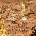 Hologramy s Curiosity na Marsu zdroj:jpl.nasa.gov