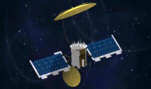 Vizualizace satelitu MUOS