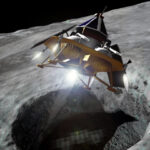 lander s roverem vybírá místo k přistání zdroj: astrobotic.com