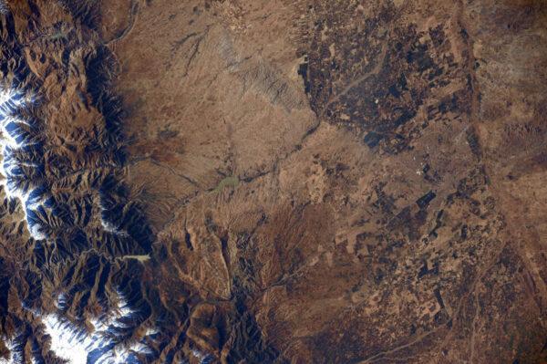 """""""Zdravím Maroko! Zahlédla jsem medinu města Marrákéš, která patří mezi světové dědictví UNESCO. Krásný pohled z vesmíru!"""""""