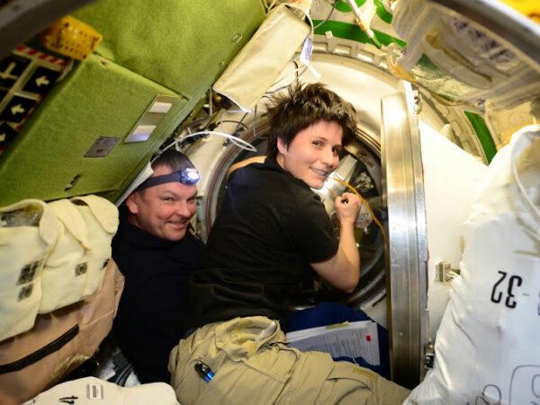 V pátek jsme uzavřeli poklopy na straně ATV i ISS.