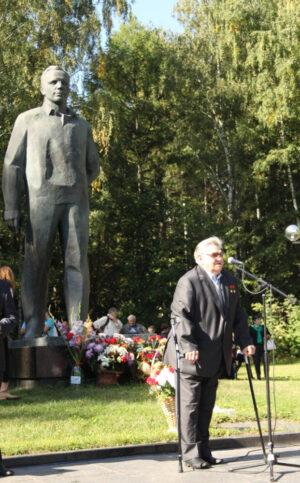 Gubarev v roce 2014 na oslavách založení Hvězdného městečka