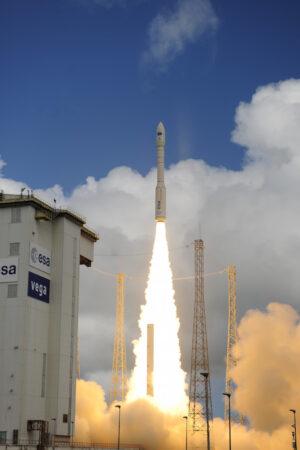 Start rakety Vega s IXV