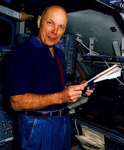 Story během tréningu pro STS-80