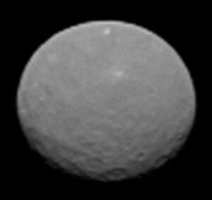 Ceres ze vzdálenosti 145 000 km - vyfoceno 4. února