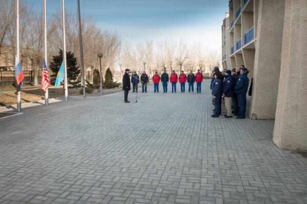 Tradiční ceremoniál vytahování vlajek