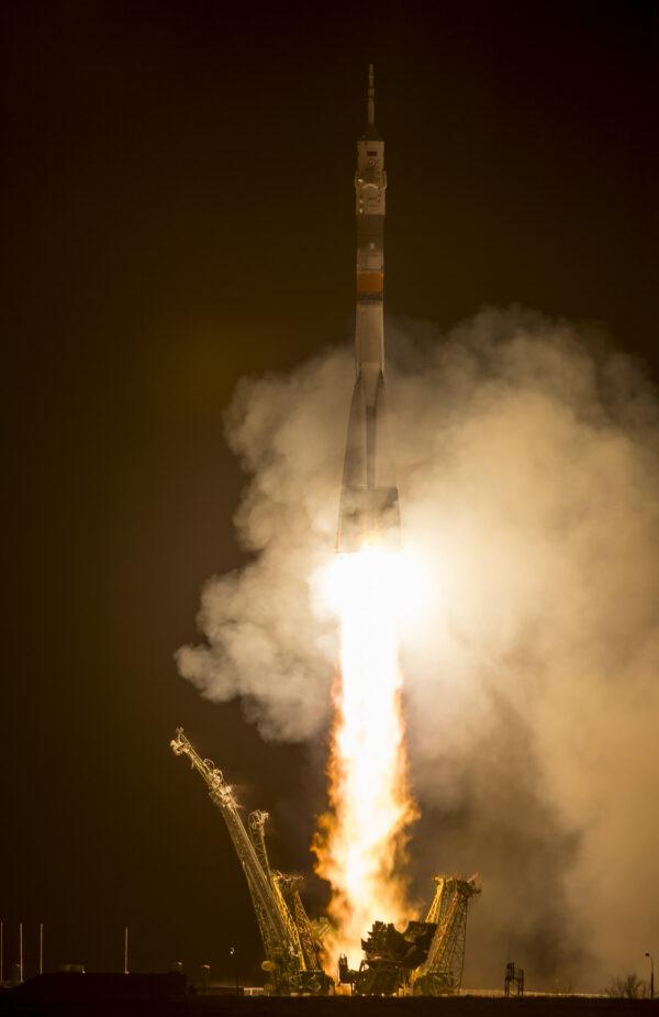 Vypuštění kosmické lodi Sojuz TMA-16M
