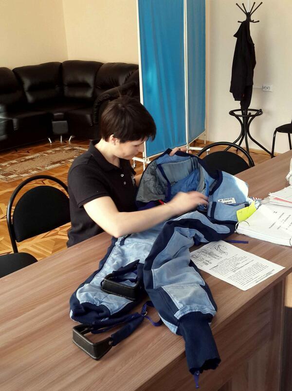 Ruští doktoři jej doporučují nosit několik hodin denně během posledního měsíce pobytu na ISS.