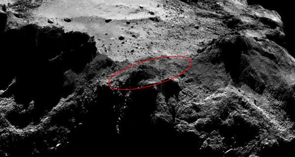 Místo, kde se nachází Philae stále není přesně známo