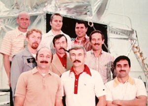 Jižanští gentlemani - hlavní, záložní a podpůrná posádka Apolla 17