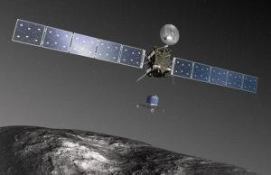 Rosetta vysazuje Philae