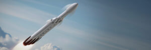 Aktualizovaná podoba rakety Falcon Heavy