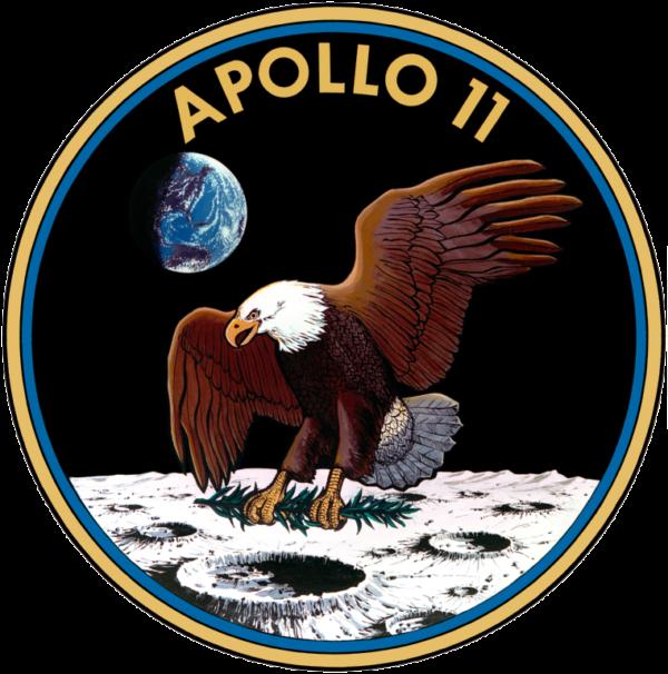 """Logo mise Apollo 11 bylo dle Michaela Collinse """"biologicky nepřesně, leč politicky správně"""""""