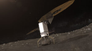Vítěžná varianta B obnáší odběr balvanu z povrchu několikasetmetrové planetky.