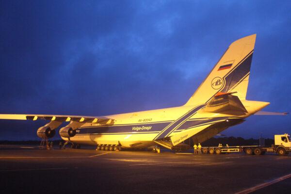 Transportní letoun přistál v Cayenne