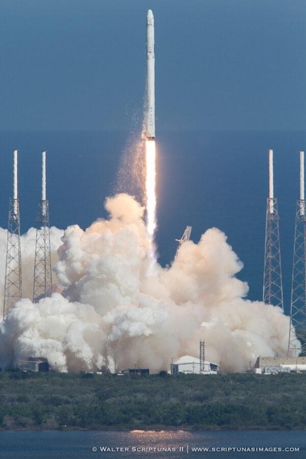 start Falconu 9/Dragon CRS-6