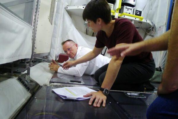 Tento týden se mi a mému kolegovi Butchovi dostane výcviku specialisty modulu Columbus.