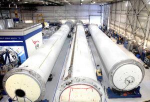 Nádrže pro rakety Falcon 9 zdroj: SpaceX
