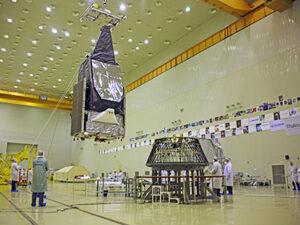 Příprava satelitu MexSat-1