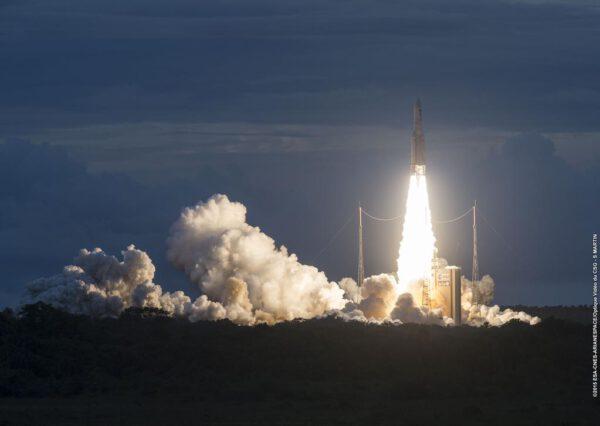 Start rakety Ariane