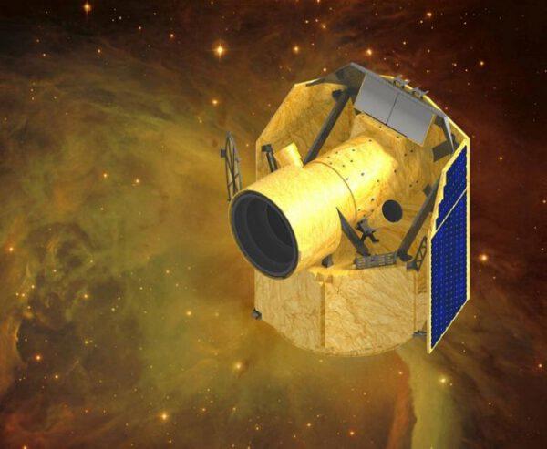 Vizualizace teleskopu CHEOPS