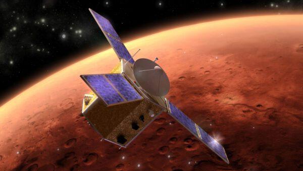 Naděje na orbitě Marsu