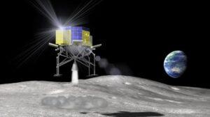 SLIM přistává na Měsíci zdroj: jaxa.jp