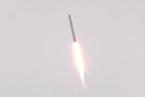 T+ 0:01:10: Dosažení rychlosti Mach 1
