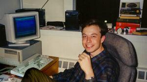 """Musk v dobách studií - etalon """"nerda"""""""
