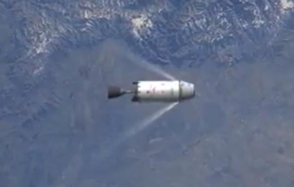 T+0:09:27: SECO: Vypnutí motoru druhého stupně, dosažená orbita dosahuje výšky 199 km.