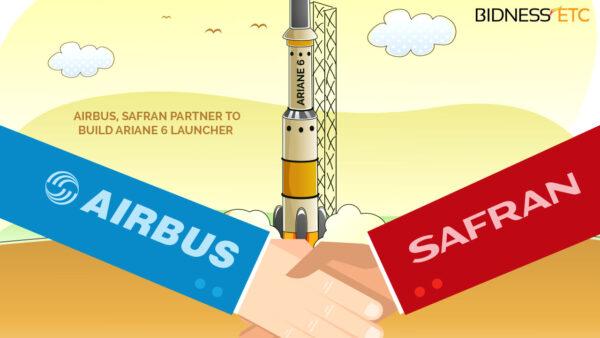Airbus a Safran vytvoří novou společnost, která bude dbát o vynášení komerčních družic