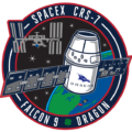 Logo mise CRS SpX-7
