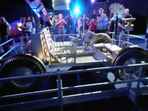 Model amerického lunárního vozítka
