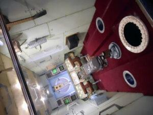 Model modulu stanice MIR zacvičí s vestibulárním aparátem návštěvníků