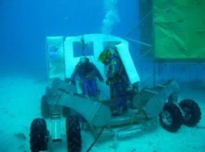 Projekt NEEmo pod vodní hladinou testuje postupy a technologie pro budoucí v kosmické využití. zdroj: nasa.gov