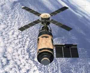 Stanice Skylab po odletu poslední posádky.