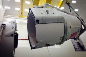 Příprava lodi Dragon na minulou misi - CRS-6