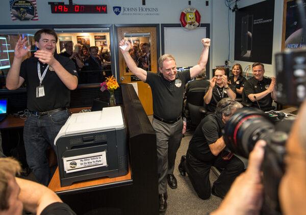 New Horizons to dokázala a spolu s ní i celý vědecký tým.