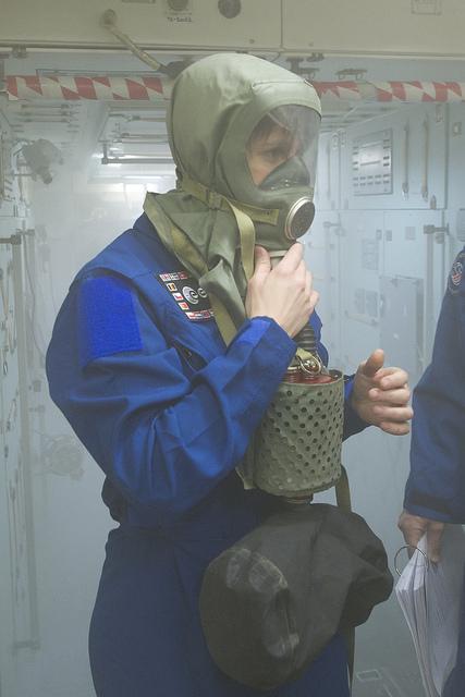 Ruská ochranná maska IPK.