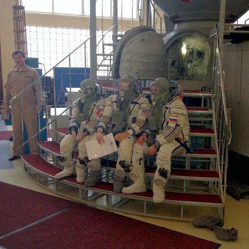 Jsme připraveni na pokračování v simulátoru Sojuzu.