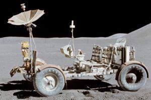 Lunar roving vehicle z mise Apollo 15