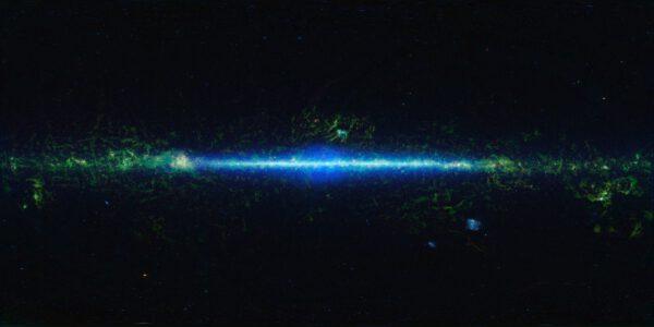 Naše galaxie v infračerveném záření