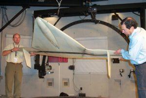 Matador v aerodynamickém tunelu, zdroj: nasa.gov
