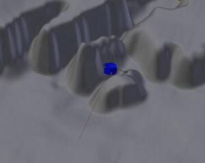 Pravděpodobná orientace Philae