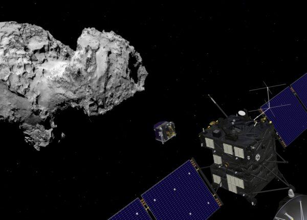 Rosetta vypouští Philae