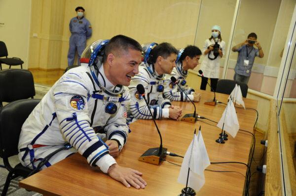 Tisková konference před startem