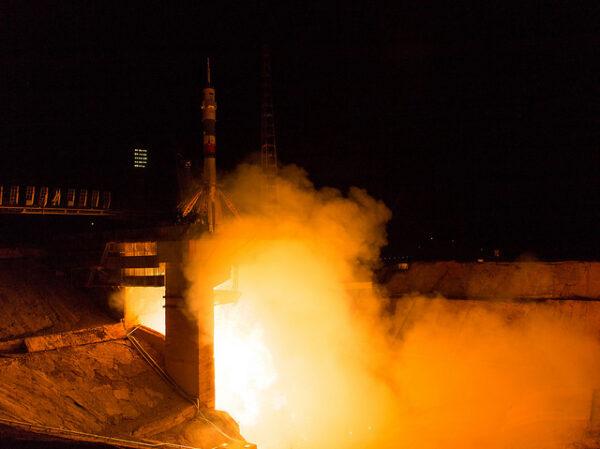 Sojuz startuje i s lodí Sojuz TMA-17M
