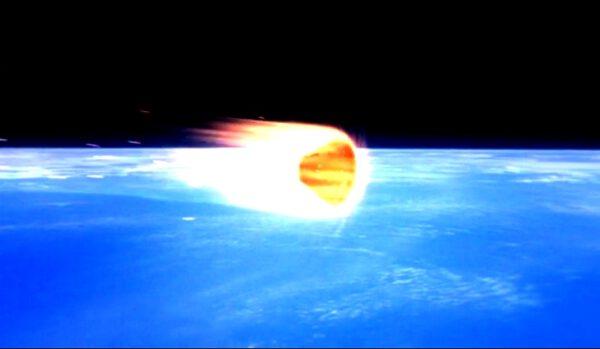 Kosmickou loď kónického tvaru plasma zcela obemkne a znemožní tak radiovou komunikaci zdroj: nasa.gov
