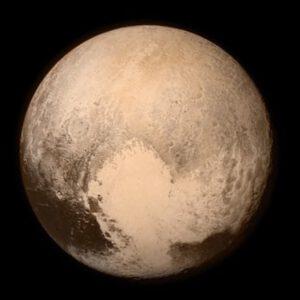 Pluto ze vzdálenosti 766 000 kilometrů - foceno 13. července ve 22:00 našeho času.